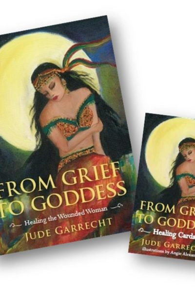 From Grief to Goddess book and Healing Card SET